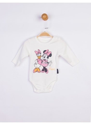 Minnie Mouse  Bebek Body 17204 Ekru